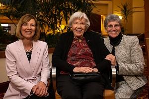WLC Honorees Susan Hoolahan Jean Purvis Marilyn Horan